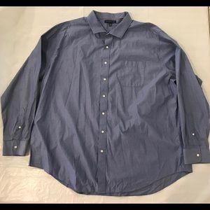 Tommy Hilfiger Tall Long 20 36-37 Mens Dress Shirt